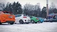 Антон Воротников Автомобили класса С Автомобили класса С - Сравниваем: Ceed GT, Octavia RS, Leon FR, Focus ST.
