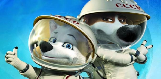 Смотреть Белка и Стрелка: Лунные приключения