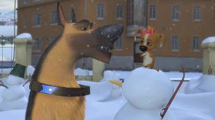 Белка и Стрелка: Озорная семейка  Сезон-1 Серия 23. Первый снег
