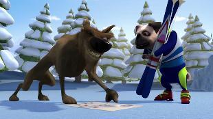 Белка и Стрелка: Озорная семейка  Сезон-1 Серия 72. Собачья сила