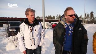 Большой тест-драйв Сезон-1 Швеция. Зимнее вождение