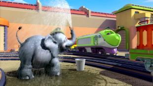 Чаггингтон: Веселые паровозики. Медальный зачет. Сезон-1 Брюстер и слон