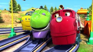 Чаггингтон: Веселые паровозики Сезон-4 Настоящие помощники