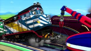 Чаггингтон: Веселые паровозики Сезон-4 Самый сильный паровозик
