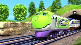 Чаггингтон: Веселые паровозики Сезон-4 Сбежавший паровозик