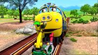 Чаггингтон: Веселые паровозики Сезон-4 Станция серебряного вагончика