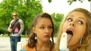 Даёшь молодёжь! Марина и Диана Мороженое