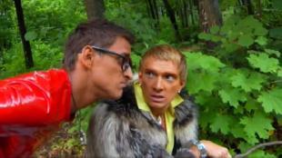 Даёшь молодёжь! Метросексуалы Данила и Герман В лесу