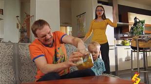Даёшь молодёжь! Молодая семья Валера и Таня Огурец vs пылесос