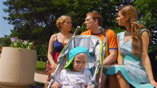 Даёшь молодёжь! Молодая семья Валера и Таня Отец-одиночка