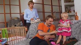 Даёшь молодёжь! Молодая семья Валера и Таня Платье для Ванечки