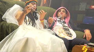 Даёшь молодёжь! Растаманы Кекс и Укроп Свадьба с тортиком