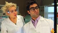 Даёшь молодёжь! Учёные – Роберт и Анна Жуткая смесь