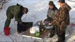 Диалоги о рыбалке Сезон-1 Ахтуба, зима. Окунь
