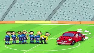 Футбол по-украински Футбол по-украински Металург 3апорiжжя