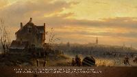 Гармония классики Сезон 1 Шарль Анри Жозеф Лейкерт, «Зима на реке Эй с видом Амстердама» (1850)