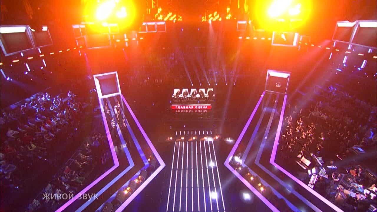 Главная сцена Первый полуфинал Арсен Мукенди. Выступление (4 часть)