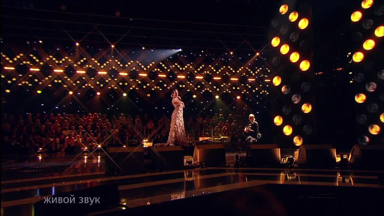 Главная сцена Первый полуфинал Нана Арахамия. Выступление (19 часть)