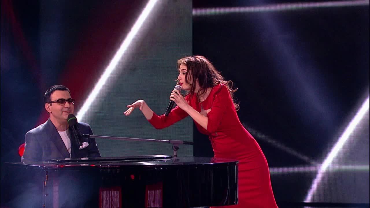 Главная сцена Последний четвертьфинал Нана Арахамия и Гарик Мартиросян. Выступление (35 часть)