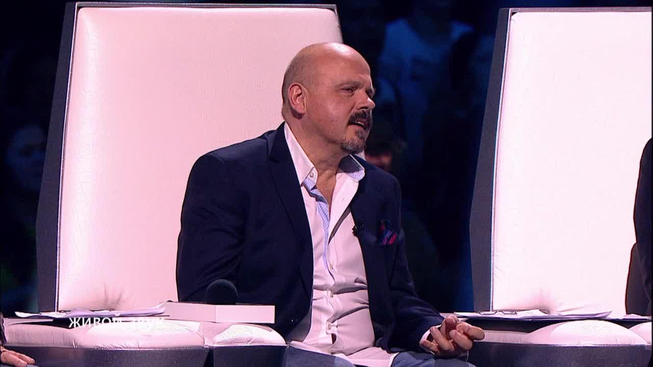 Главная сцена Третий четвертьфинал Олег Сидоров. Выступление (5 часть)