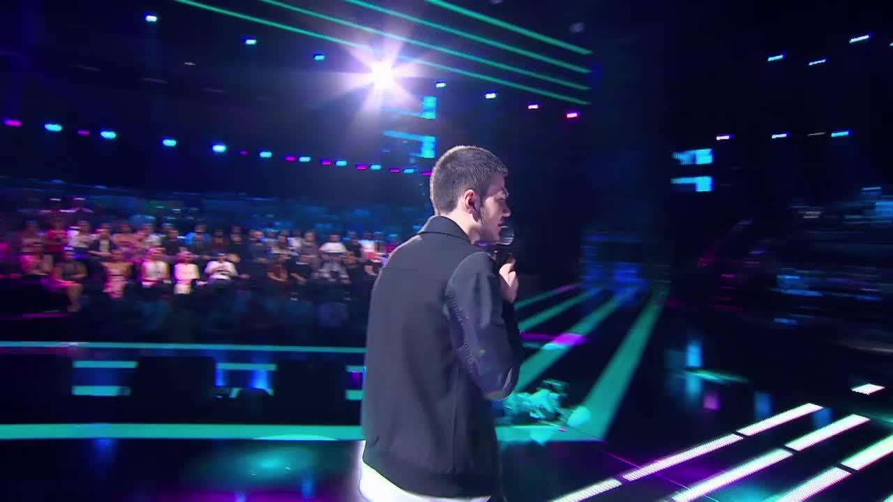 Главная сцена Второй четвертьфинал Эрик Габриелян. Выступление (14 часть)