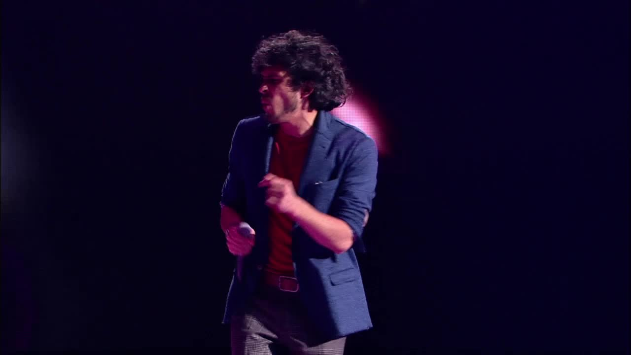 Главная сцена Второй четвертьфинал Филипп Черевко. Выступление (10 часть)