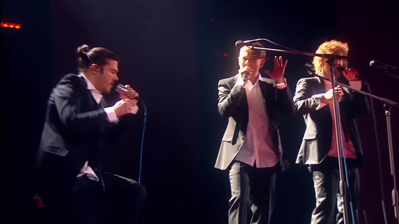 Главная сцена Второй четвертьфинал Jukebox trio. Выступление (8 часть)