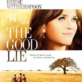 Смотреть «Хорошая ложь» от Риз Уизерспун, перекрашенной в брюнетку