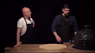 Каба4ок Сезон-1 Big Green Egg׃ куриные крылья по канадскому рецепту