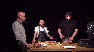 Каба4ок Сезон-1 Big Green Egg׃ правильные стейки