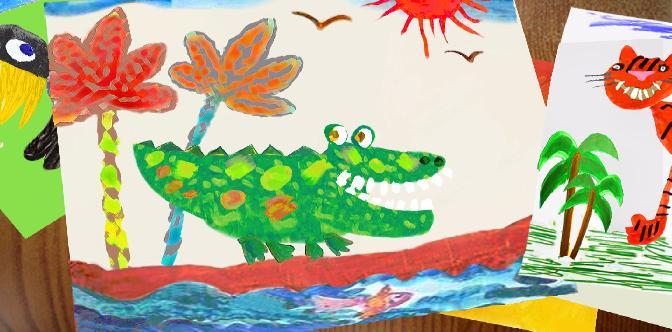 Смотреть Как кричит крокодил