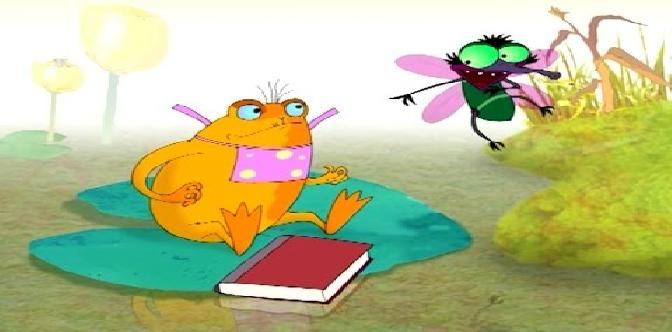 Смотреть Как лягушка научилась квакать (Беларусьфильм, 2010) • Видеоняня ТВ