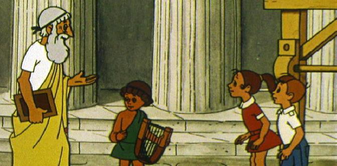 Смотреть Коля, Оля и Архимед