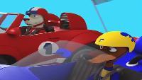 Крутые гонки Выпуск 6 - Звездная Мощь Выпуск 6 - Звездная Мощь - Таинственный гонщик