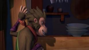 Кунг-фу: 12 знаков зодиака 4 сезон 175 серия. Любознательная обезьяна