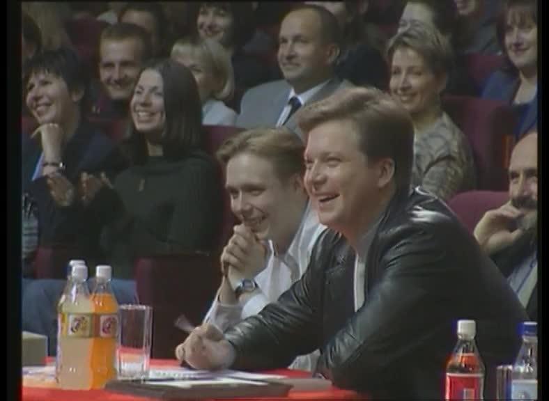 КВН 2000 КВН Высшая лига (2000) 1/2 - Уральские пельмени - СТЭМ