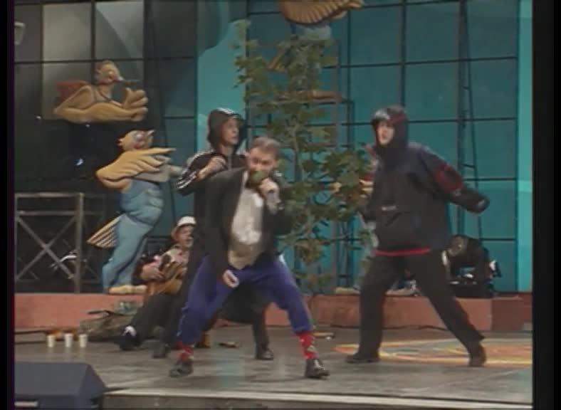 КВН 2000 КВН Высшая лига (2000) 1/4 - УЕздный город - Музыкалка