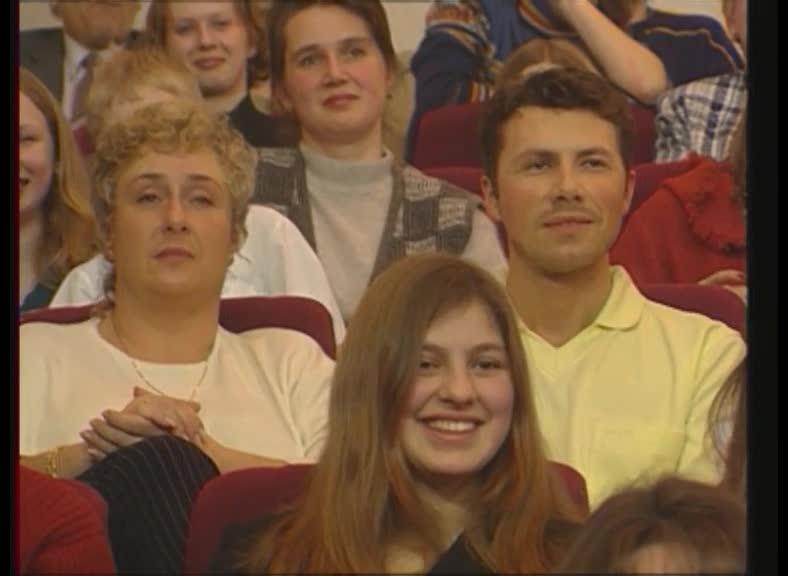 КВН 2000 КВН Высшая лига (2000) 1/8 - Уральские пельмени - Приветствие