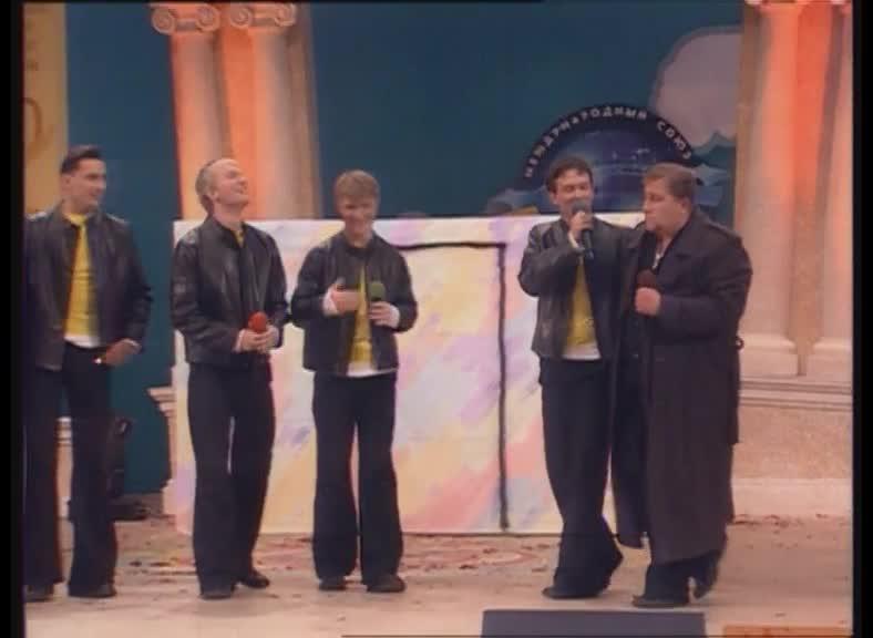 КВН 2001  КВН Высшая лига (2001) 1/4 - БГУ - Приветствие