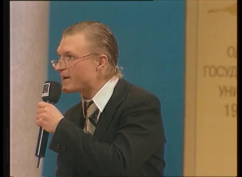 КВН 2001 КВН Высшая лига (2001) 1/2 - БГУ - СТЭМ