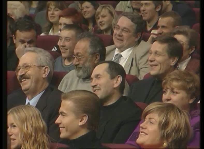 КВН 2001 КВН Высшая лига (2001) финал - БГУ - Приветствие