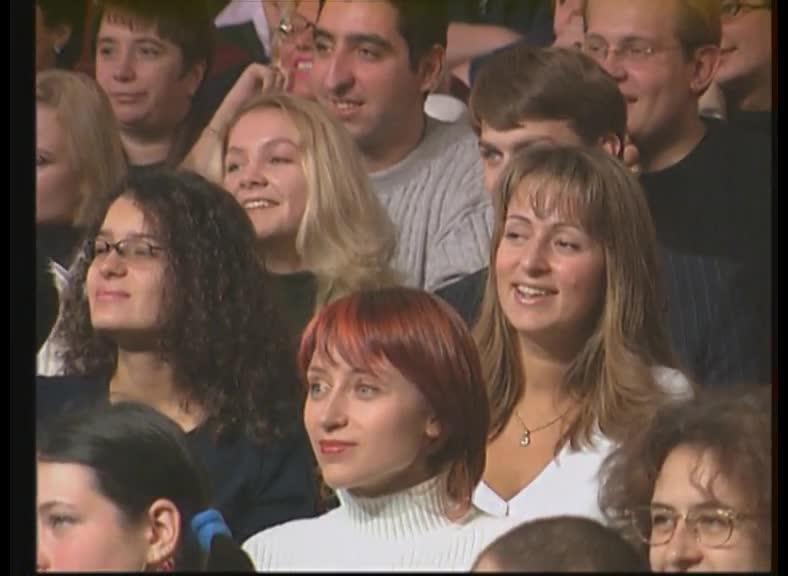 КВН 2002 КВН Высшая лига (2002) 1/2 - Сборная Санкт-Петербурга - Приветствие