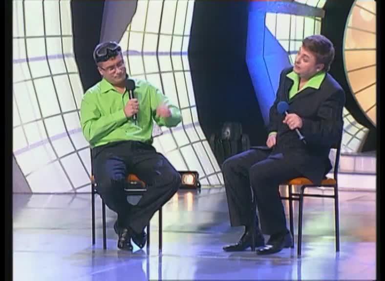 КВН 2007 Высшая лига Прима 1/2 финала приветствие