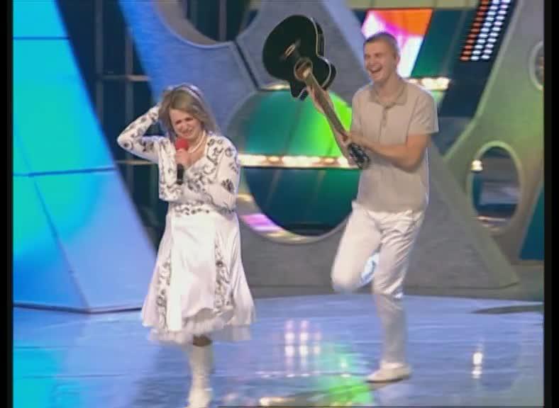 КВН 2009 Высшая лига БАК-Соучастники 1/2 финала музыкалка