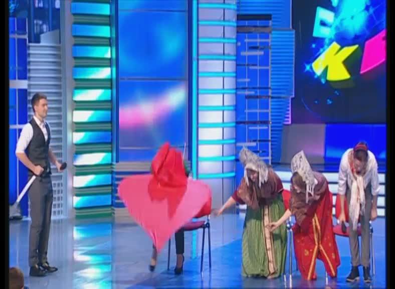 КВН 2012 Высшая лига Факультет журналистики 1/4 финала приветствие
