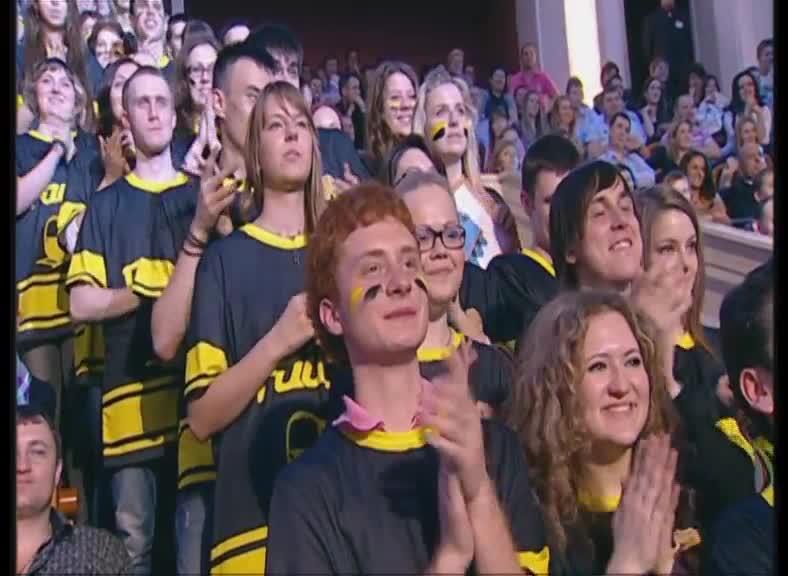 КВН 2012 Высшая лига Раисы 1/4 финала конкурс одной песни