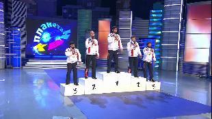 КВН. Лучшее Сезон-1 Борцы. Музыкальный номер. Высшая Лига. Первая 1/2 2013 года.