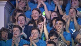 КВН. Лучшее Сезон-1 ФЖ Питер. Приветствие. Высшая Лига. Первая 1/4 2013 года.