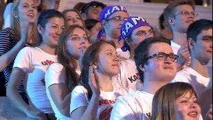 КВН. Лучшее Сезон-1 Камызяк. Музыкальный номер. Высшая Лига. Вторая 1/4 2013 года.