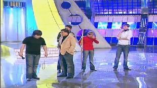 КВН Нарезки КВН Высшая лига (2007) 1/4 - Астана.kz - Приветствие